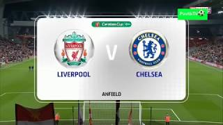 Liverpool vs Chelsea 1-2 All Goals & Highlights 2018