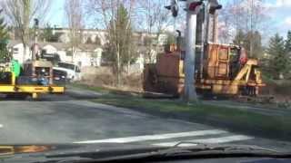 Railroad Machines-Railway Construction Equip on Rail-V Sova Song