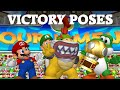 Mario Power Tennis - All Character Trophy Celebrations (HD)