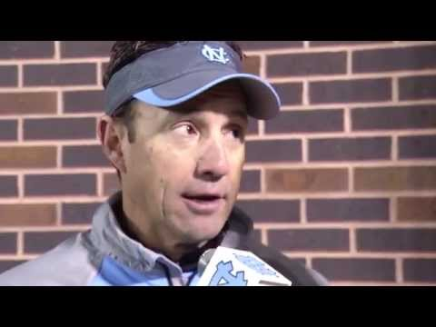 UNC Football: Larry Fedora Post Duke Win