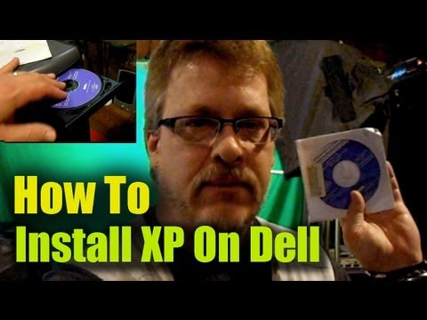 How to Install Windows XP on Dell Computer Using CD-DVD Disk