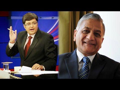 V.K. Singh's 'Presstitutes' Tweet Debate - The Newshour Debate: 'Presstitutes' abuse