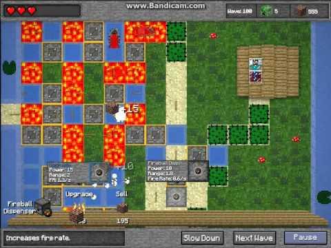 minecraft tower defense 1