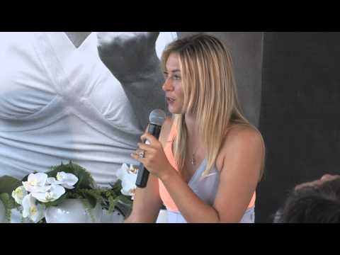 Maria Sharapova Australian Open Dress Launch