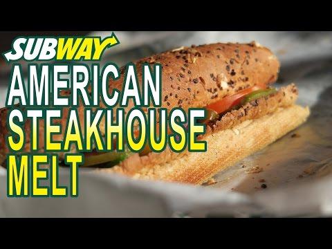 Subway American Steakhouse Melt fast food review Utrecht, Netherlands