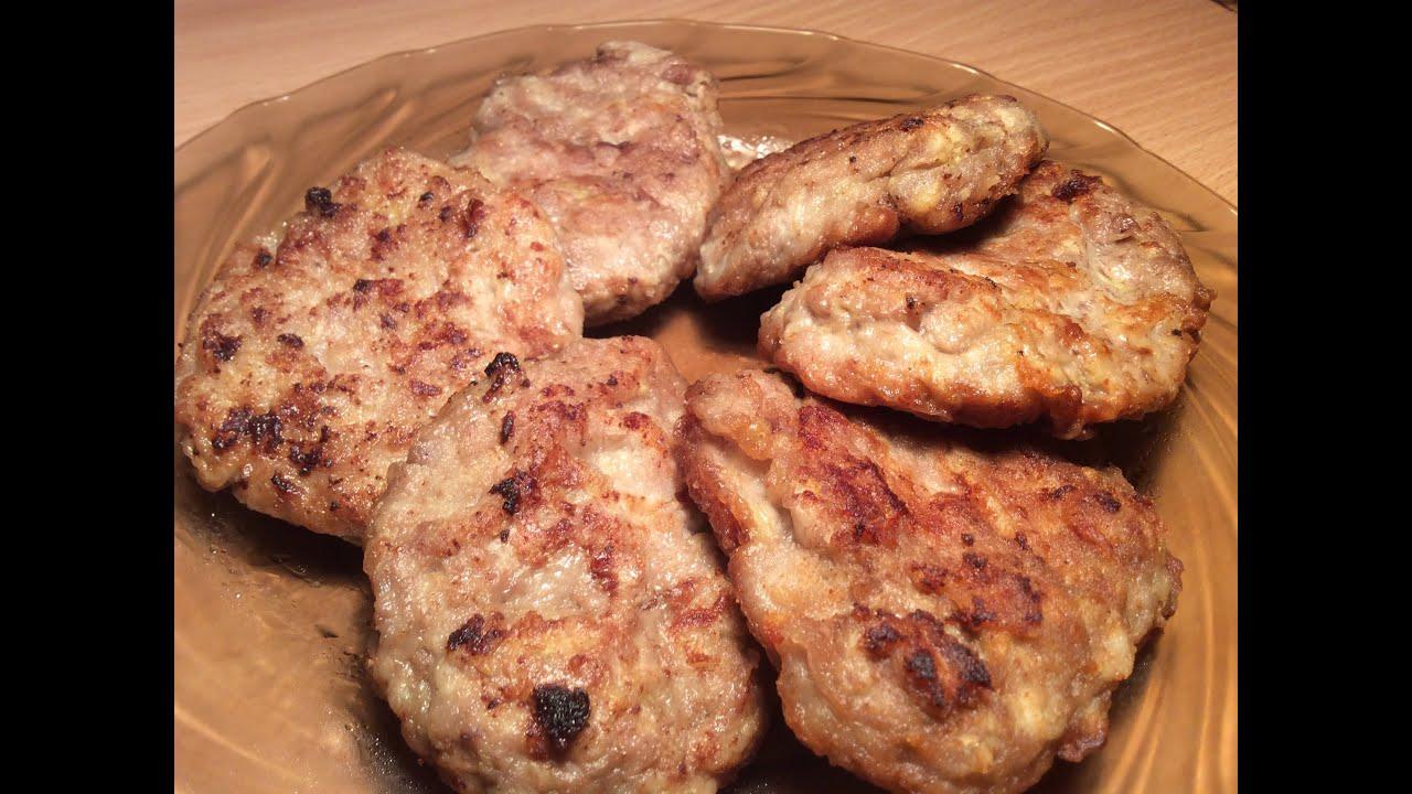 Котлеты из куриного фарша с кабачком рецепт