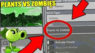 """NEVER Play Minecraft The PLANTS VS ZOMBIES WORLD! (Haunted """"PVZ"""" Seed)"""