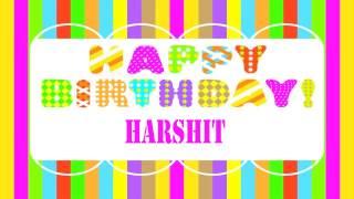 Harshit   Wishes & Mensajes - Happy Birthday