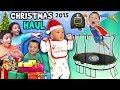 CHRISTMAS HAUL 2015 W SNOW Surprises FV Family X Mas Holiday Vlog mp3