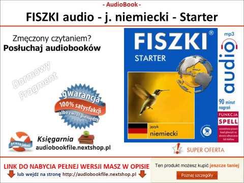 SZYBKA NAUKA NIEMIECKIEGO - STARTER - FISZKI AUDIO - MP3, Do Pobrania