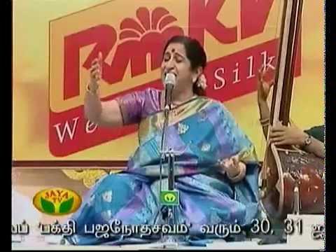 Aruna Sairam - Thanthai thai irunthal Song