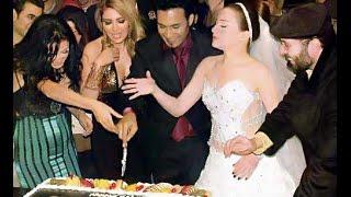 فستان زفاف مي عز الدين ماشاء الله اموره جدا شوف بقيت الصور