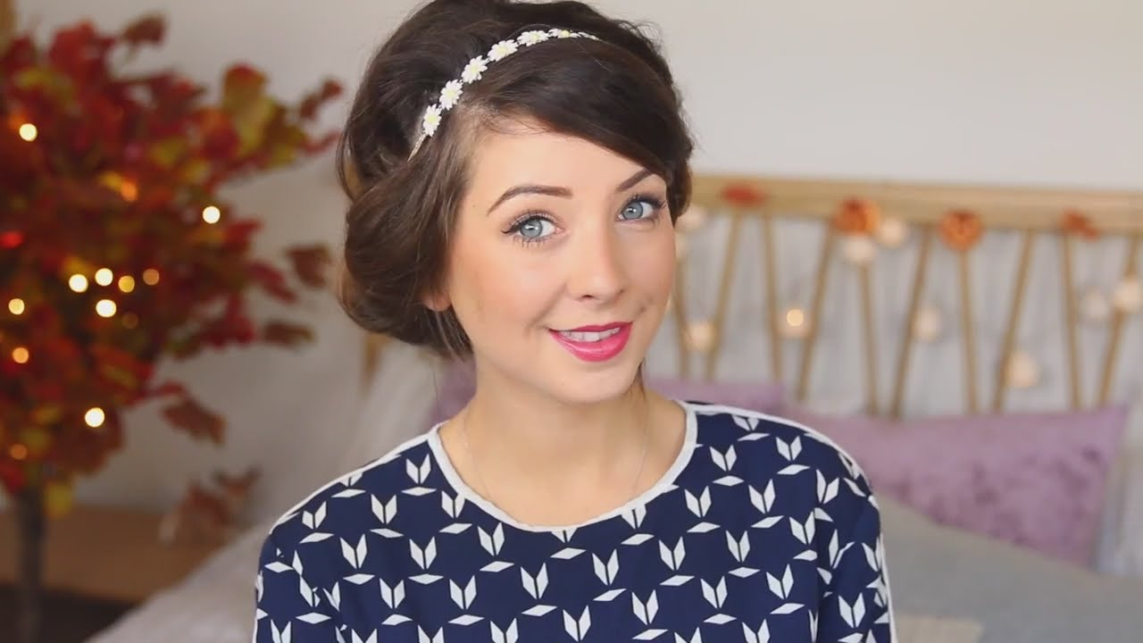Zoella Hairstyles For School : School Hairstyles Zoella Picture Ideas With Cute Mid Length Hairstyles ...
