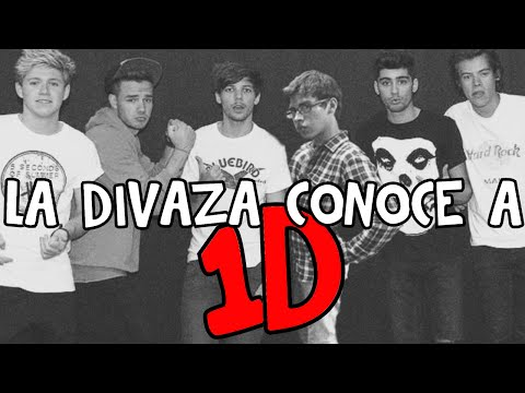 LA DIVAZA CONOCE A ONE DIRECTION