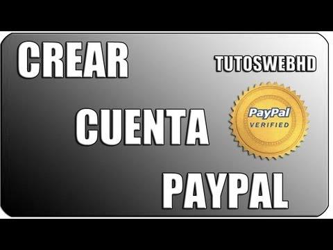 Como crear una cuenta en PayPal con o sin tarjeta de credito 2013 HD