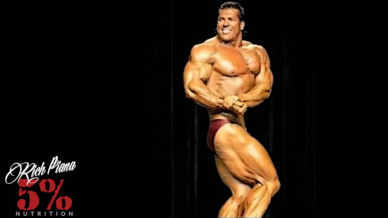 I AM THE BEST BODYBUILDER IN THE WORLD - Rich Piana - YouTube