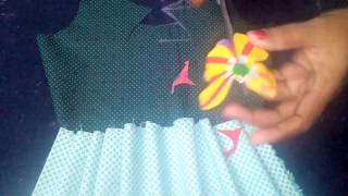 frock cutting, baby girl dresses, baby frocks, Gown Cutting and Stitching