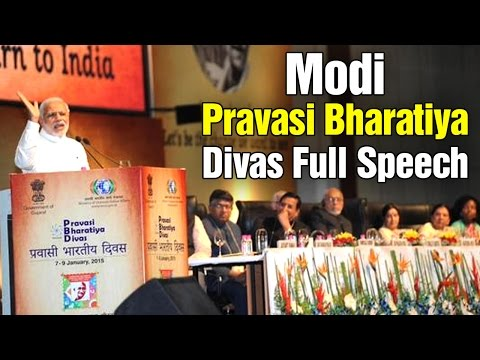 PM Modi addresses at Pravasi Bharatiya Divas in Gandhinagar - Full Speech