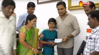 KTR to Support Young Innovator from Sircilla