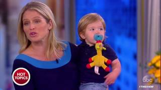 Sara Haines Introduces Us To Her Son Alec | The View