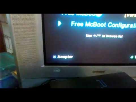 como jugar con el free mcboot y el open loader 0.7