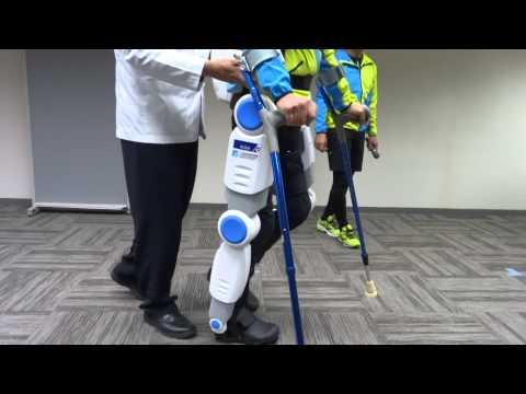 テムザックが商品化を目指す、台湾ITRI  歩行アシストロボット「Active Gear」-1