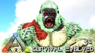ARK: SURVIVAL EVOLVED - APEX GORILLA MEGAPITHECUS & CAUSTIC GRIFFIN E31 !!! ( PRIMAL FEAR PYRIA )