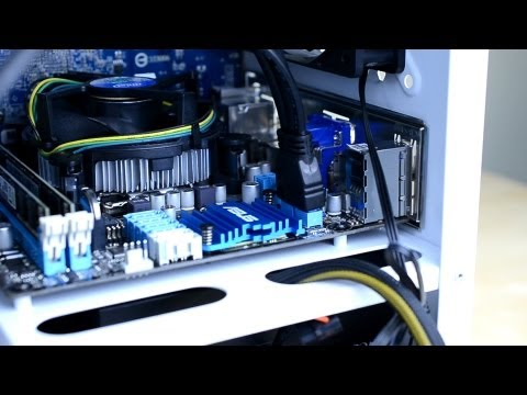 How to Build a Computer for Gaming 2013 Tutorial - Part Two