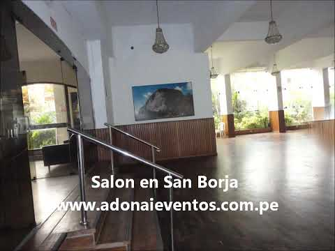 Salon para eventos en San Borja.wmv