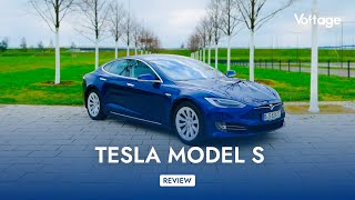 Tesla Model S 90D - TOP ZONE drive [Deutsch]