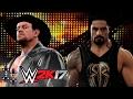 WrestleMania 33: The Undertaker vs. Roman Reigns — WWE 2K17 Match Sims