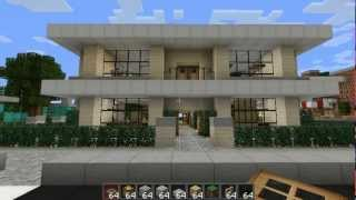 Minecraft Tour HD: Modern House #2 + Download
