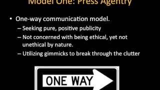PR Roles and Models