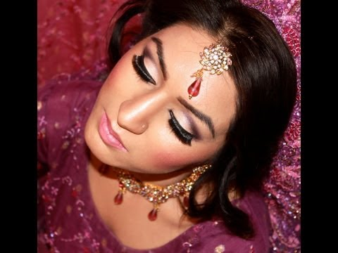 Asian Bridal Hair and Makeup Tutorial - HD
