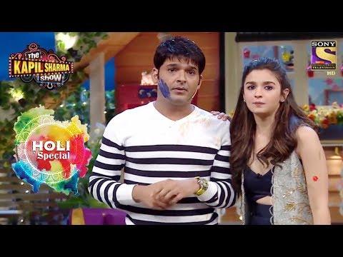 Holi Special | Celebrate Holi With Alia & Varun | The Kapil Sharma Show thumbnail