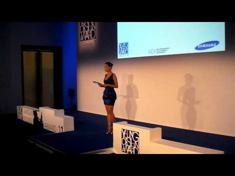 Samsung Young Design Awards 2011: Giorgia Surina introduce la serata