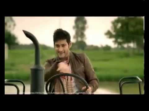 Mahesh babu In 2012 latest Mahindra Tractor A...