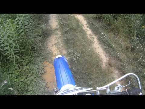 YZ 125 Riding, Wreck, & Blow up. & WR 450