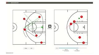 Snippet: Watch AI help basketball coaches outmaneuver the opposing team