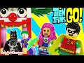 TEEN TITANS GO Lego Batman Captured Joker Starfire Robin Titans Try Rescue By Epic Toy Channel mp3