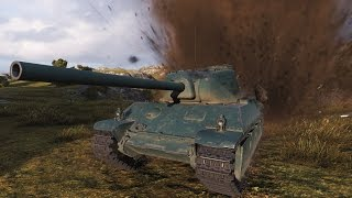 World of Tanks AMX M4 mle. 45 | 4.000+ DMG (with premium ammo) - Cliff