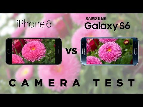 Samsung Galaxy S6 vs iPhone 6 - Camera Test Comparison