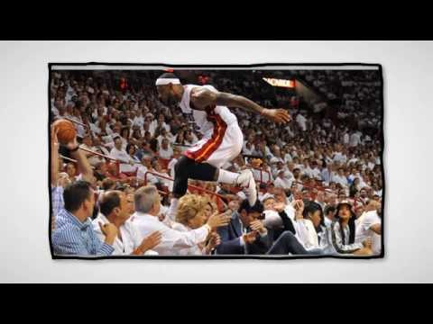 LeBron James blows Rihanna's mind by leaping 5 rows into crowd