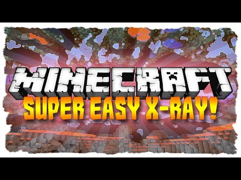 Minecraft: SUPER EASY X-RAY! (Minecraft 1.7.9 Tutorial)