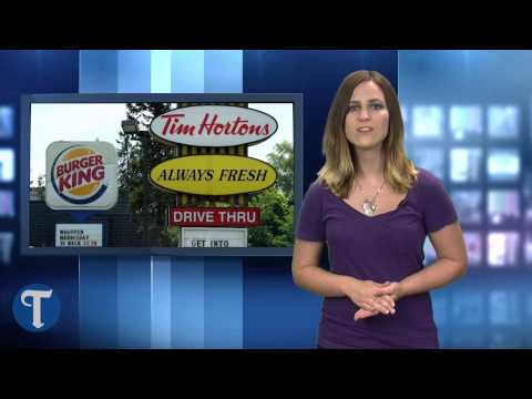 Burger King announces purchase of Tim Hortons