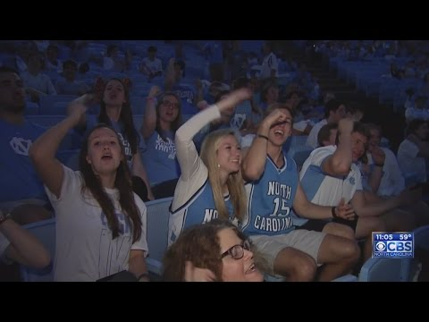 UNC fans pack Dean Dome to watch Final Four game