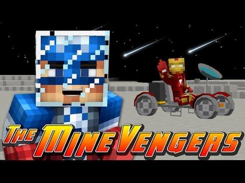 Minecraft MineVengers - Space - MOON EXPLORATION!!!