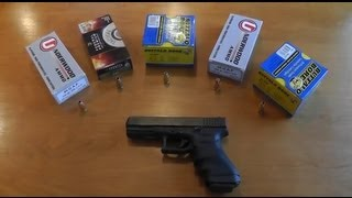 Glock 37 45 GAP - Ammo Test - Accuracy, Velocity, Recoil