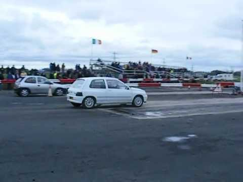 Renault Clio Valver Drag racing -Dave Glover