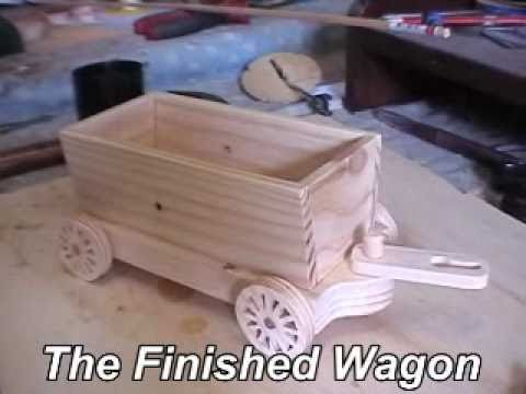 How to Make a Wooden Toy Train - YouTube